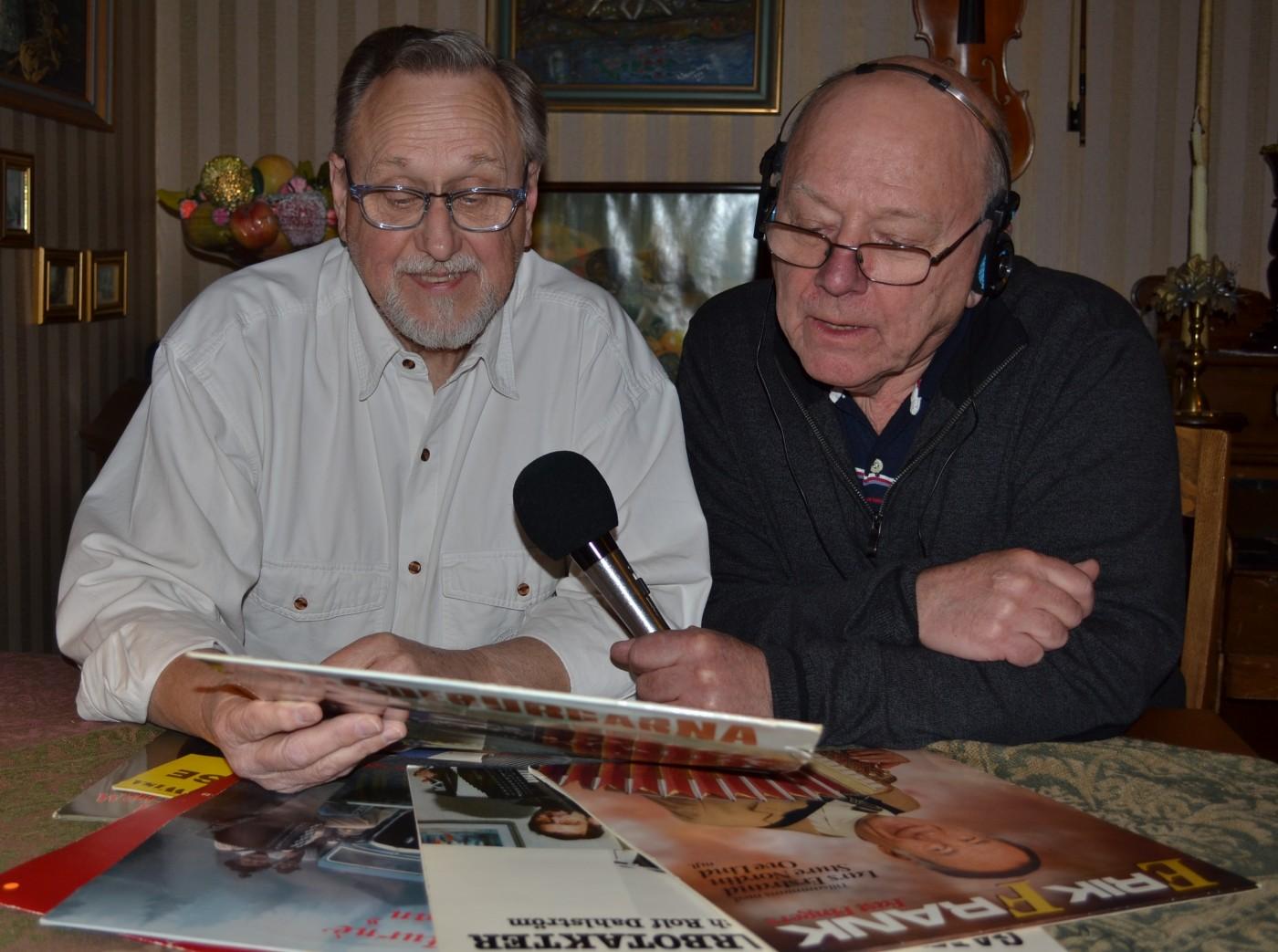 Leif Holmberg och Jan Olsson.