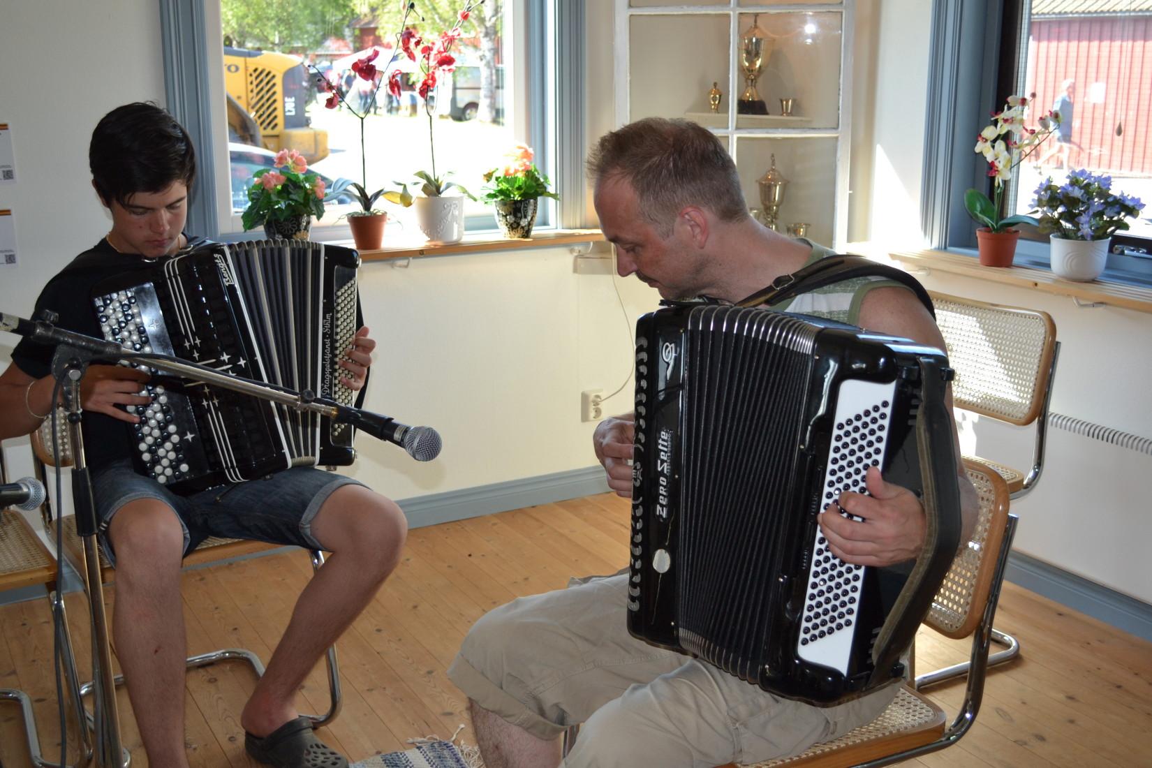 Beiron Hultman och Stefan Wenerklang.