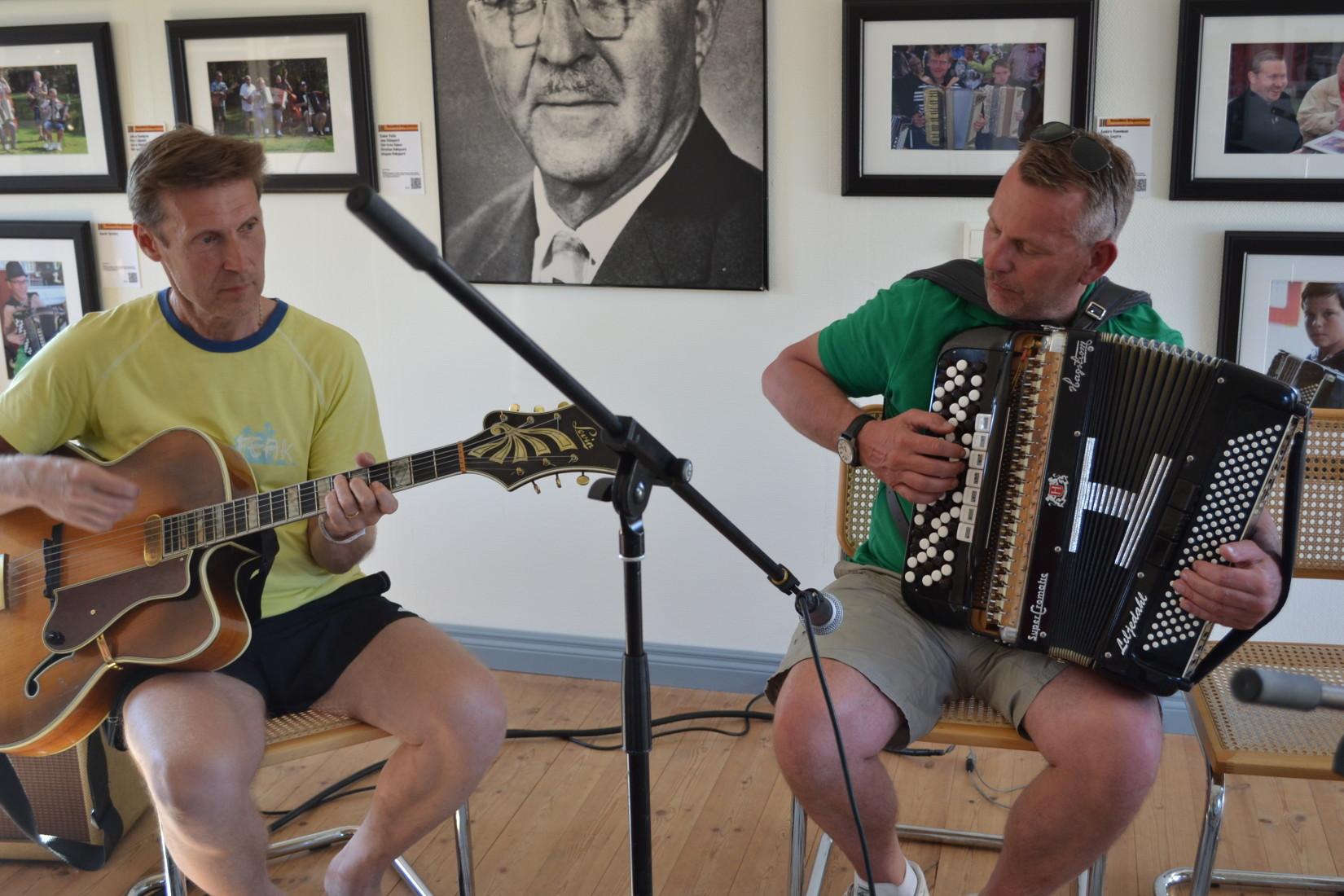 Anders Nilsson och Peter Liljedahl