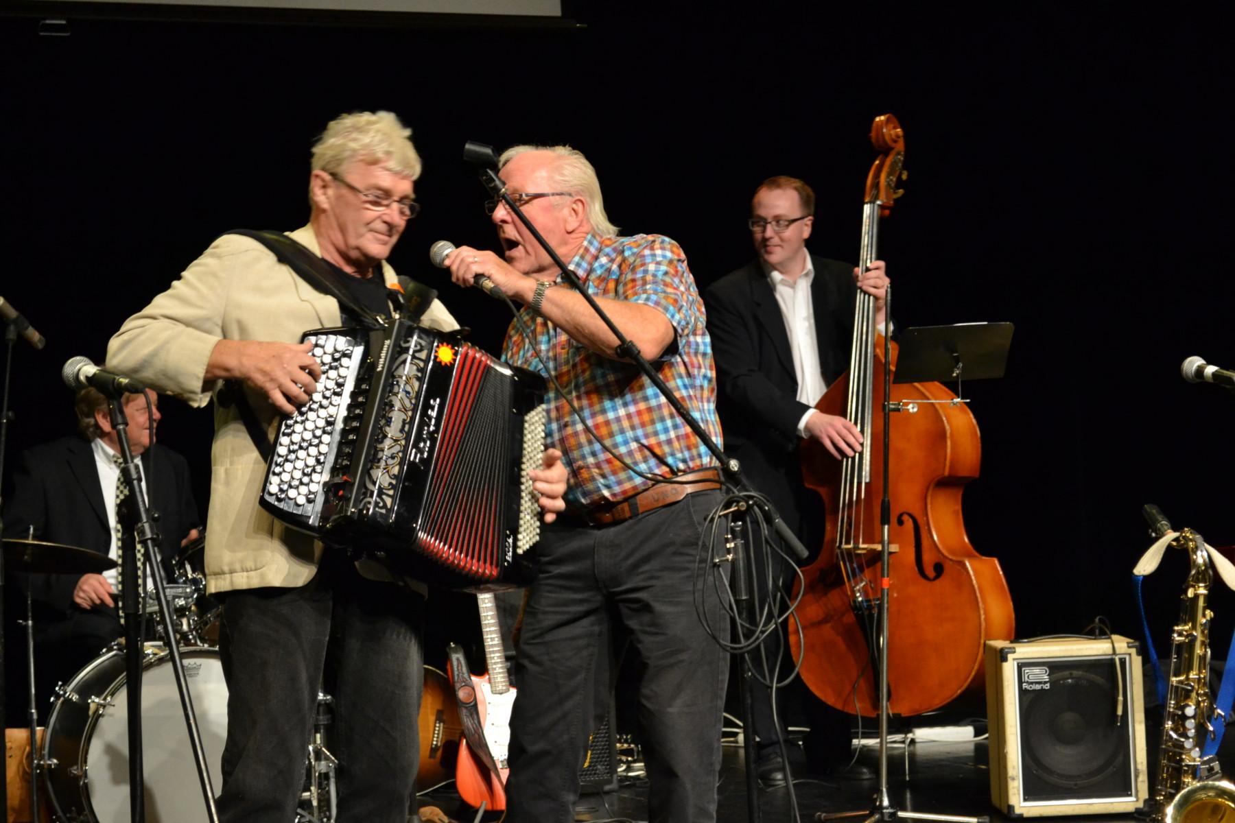 Ingvar Karlsson och Calle Forsgren